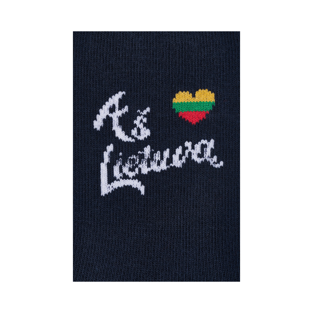 """Kūdikių kojinės """"Aš myliu Lietuvą"""" 2"""