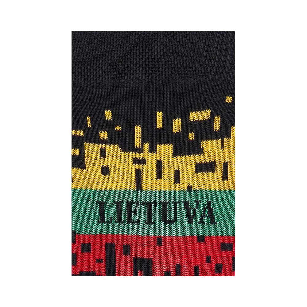 """Moterų kojinės """"Išbyrėjusi vėliava"""" 3"""