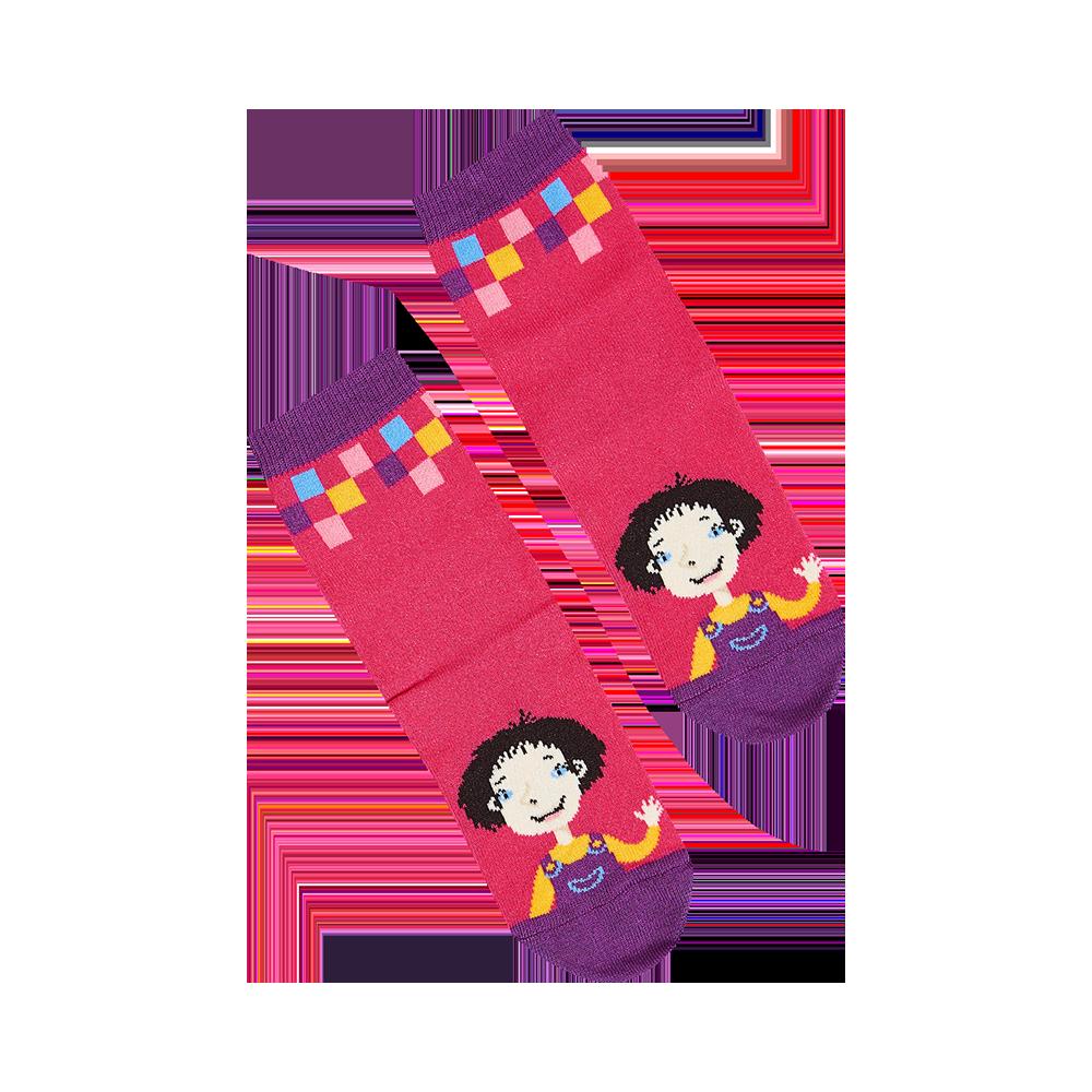 """Vaikų kojinės """"Kakė Makė"""" 2"""