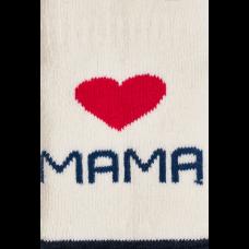 """Kūdikių kojinės  """"Myliu mamą"""""""