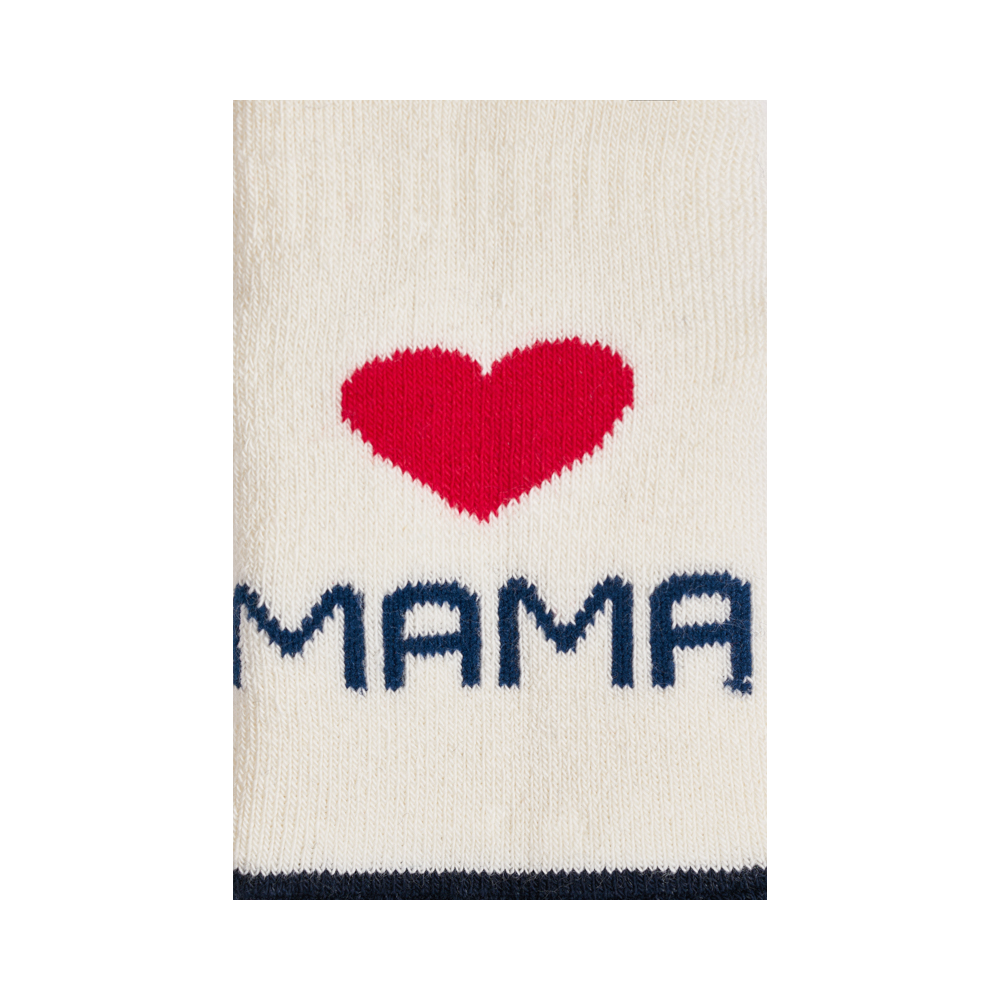 """Kūdikių kojinės  """"Myliu mamą"""" 2"""