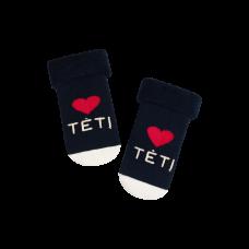 """Kūdikių kojinės """"Myliu tėtį"""""""