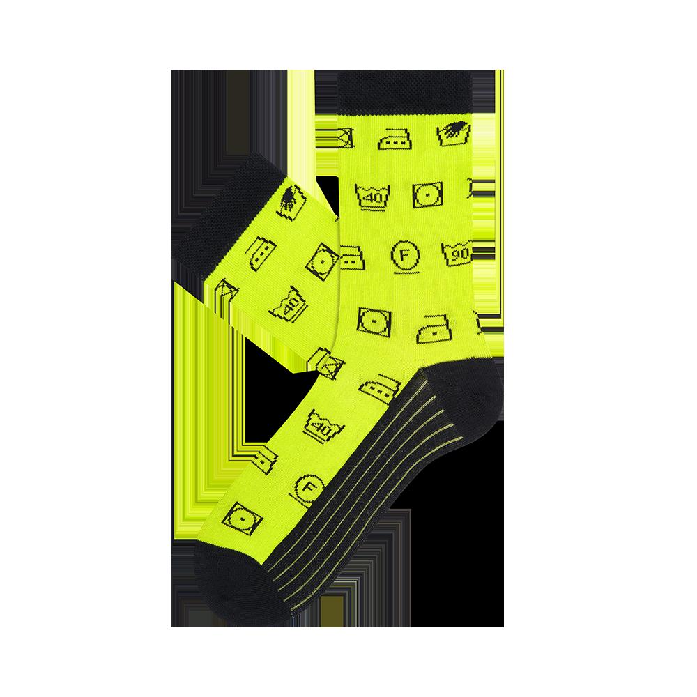 """Moterų kojinės """"Etikečių ženklai"""" 1"""