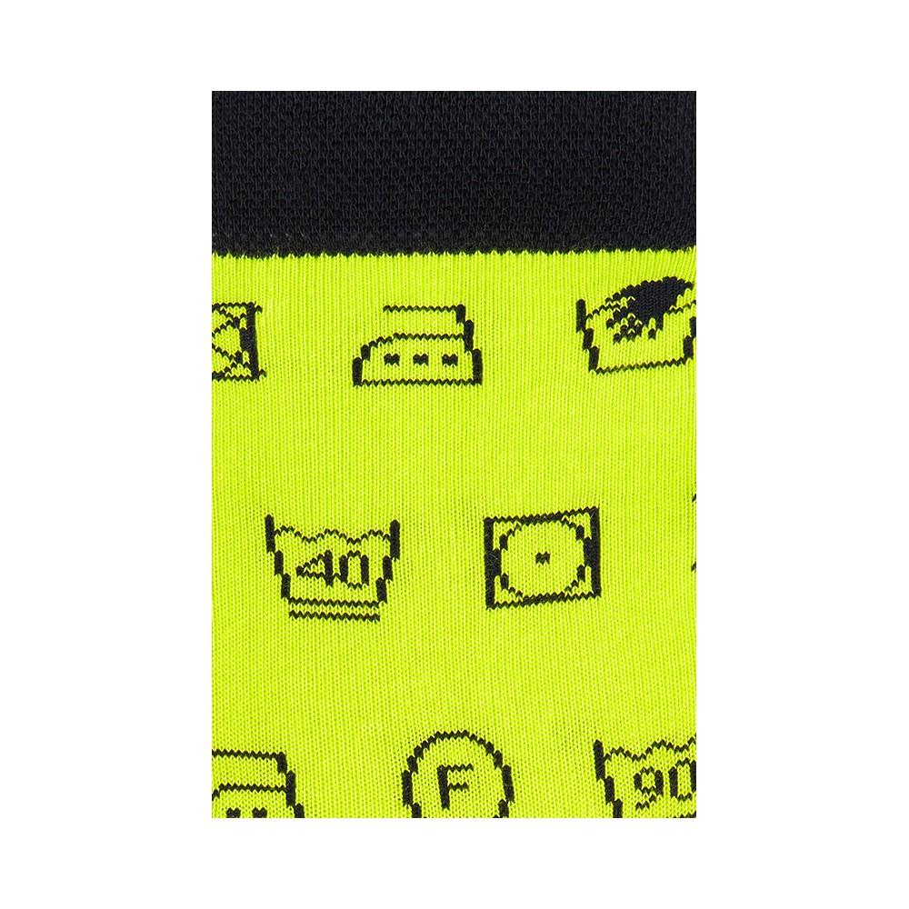 """Moterų kojinės """"Etikečių ženklai"""" 3"""