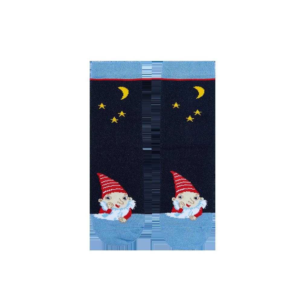 """Vaikų kojinės """"Netvarkos Nykštukas"""" 1"""