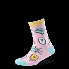 """Vaikų kojinės """"Komiksai girl"""""""