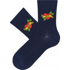"""Vaikų kojinės """"BFF ženklas"""""""