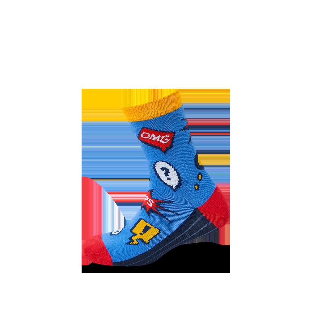 """Vaikų kojinės """"Komiksai boy"""" 2"""