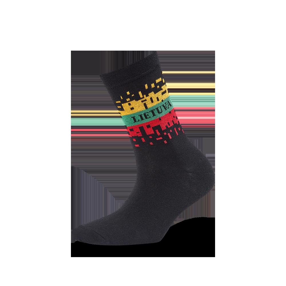 """Moterų kojinės """"Išbyrėjusi vėliava"""" 1"""