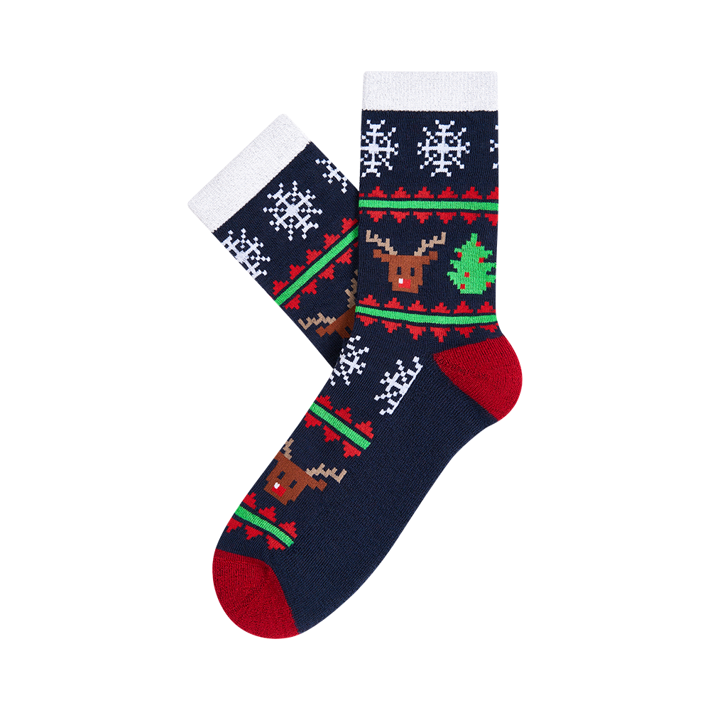 """Moterų kojinės """"Christmas Wool rich"""" 2"""