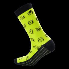 """Moterų kojinės """"Etikečių ženklai"""""""