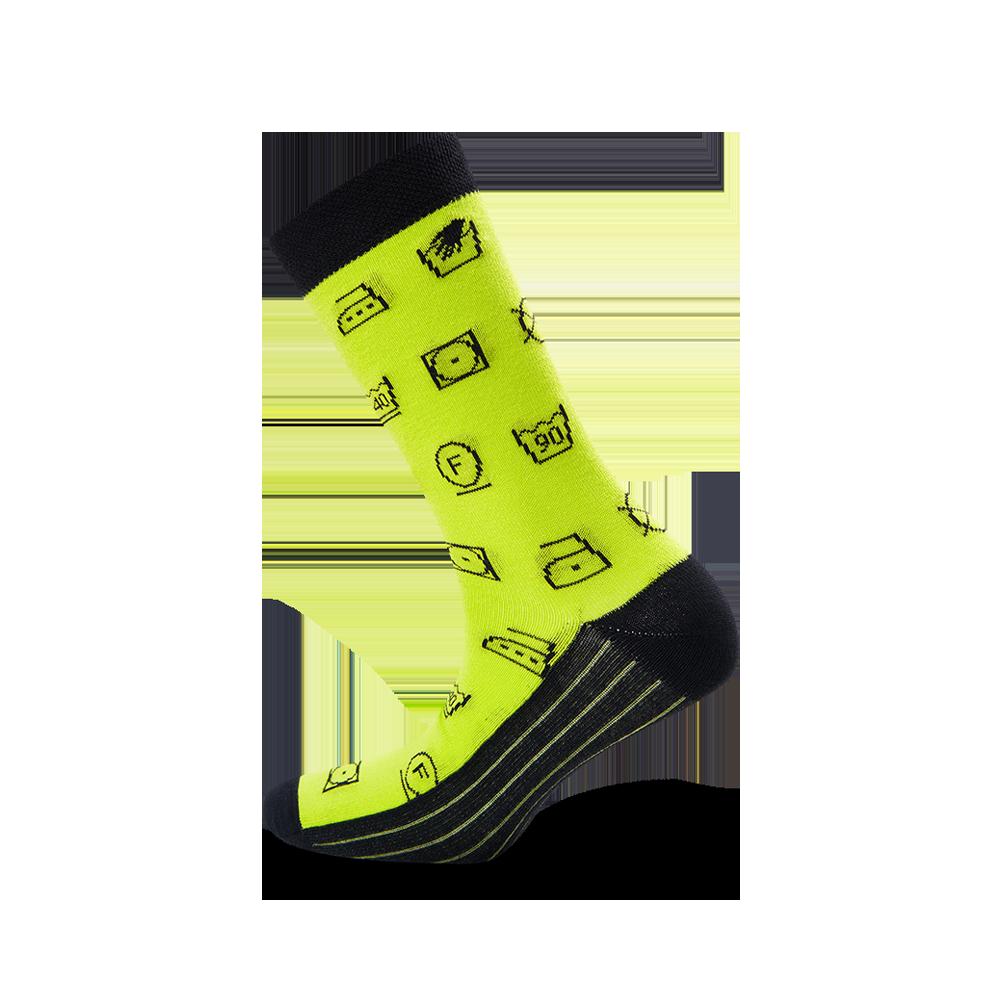 """Moterų kojinės """"Etikečių ženklai"""" 2"""
