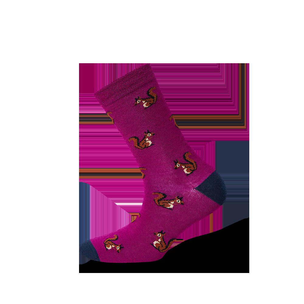 """Moterų kojinės """"Voverytės"""" 1"""