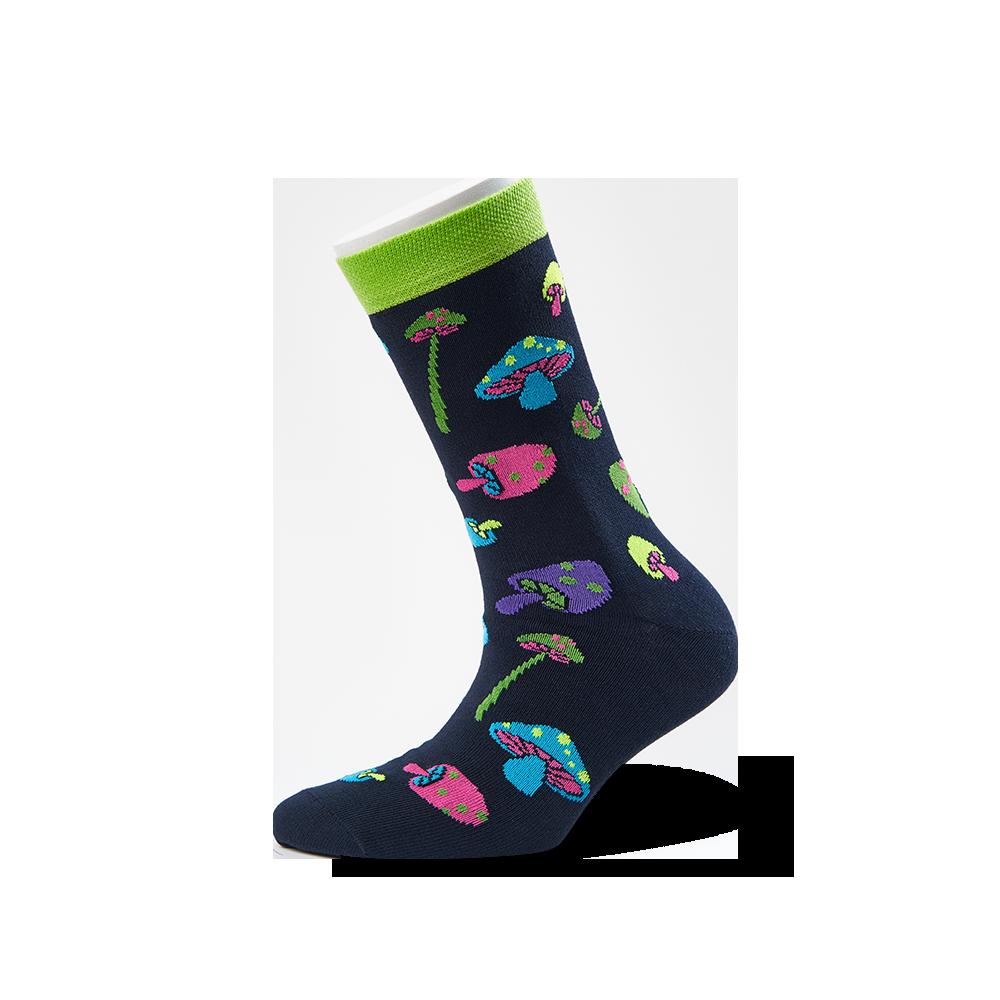 """Moterų kojinės """"Grybukai"""" 1"""
