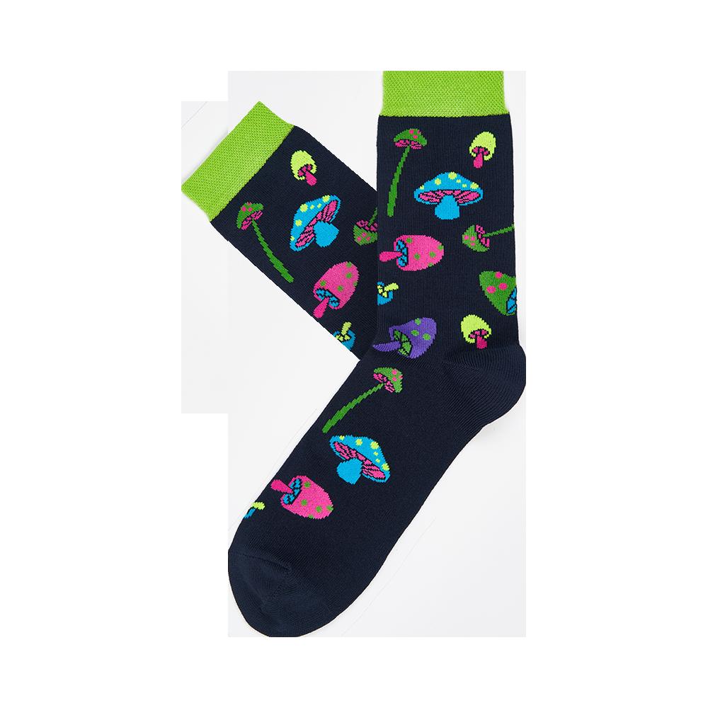 """Moterų kojinės """"Grybukai"""" 2"""