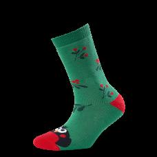 """Moterų kojinės """"Kalėdinė sniegena"""""""