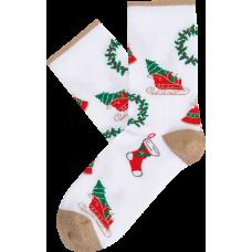 """Moterų kojinės """"Kalėdų nostalgija"""""""