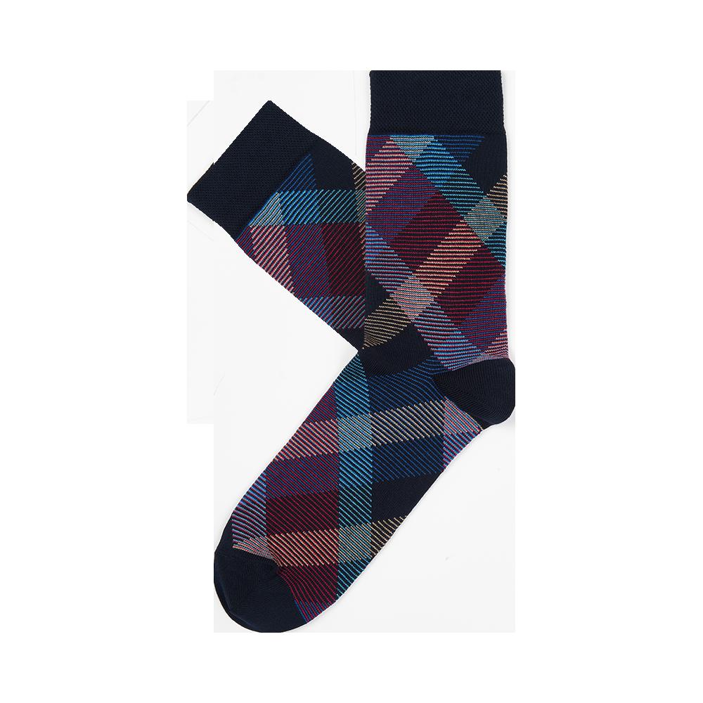 """Vyrų kojinės """"Smulkių juostelių raštas"""" 2"""