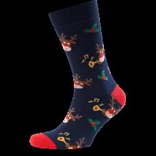 """Vyrų kojinės """"Kalėdiniai briedžiai"""""""