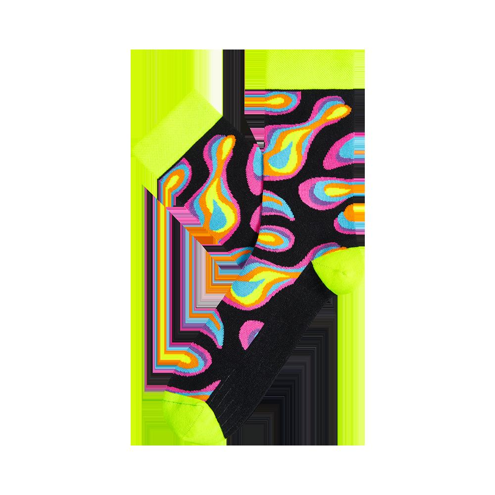 """Kojinės """"Psichodelinis mix"""" 1"""