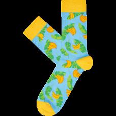 """Kojinės """"Bananai su lapais"""""""