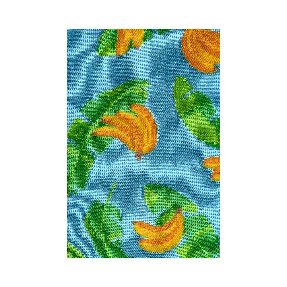 """Kojinės """"Bananai su lapais"""" 2"""