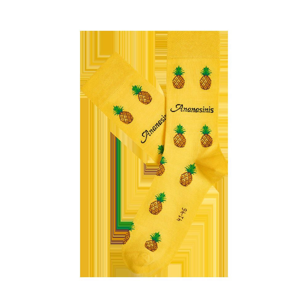 """Kojinės """"Ananasiniai saldainiai"""" 2"""