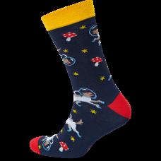 """Vyrų kojinės """"Šungrybiai kosmose"""""""