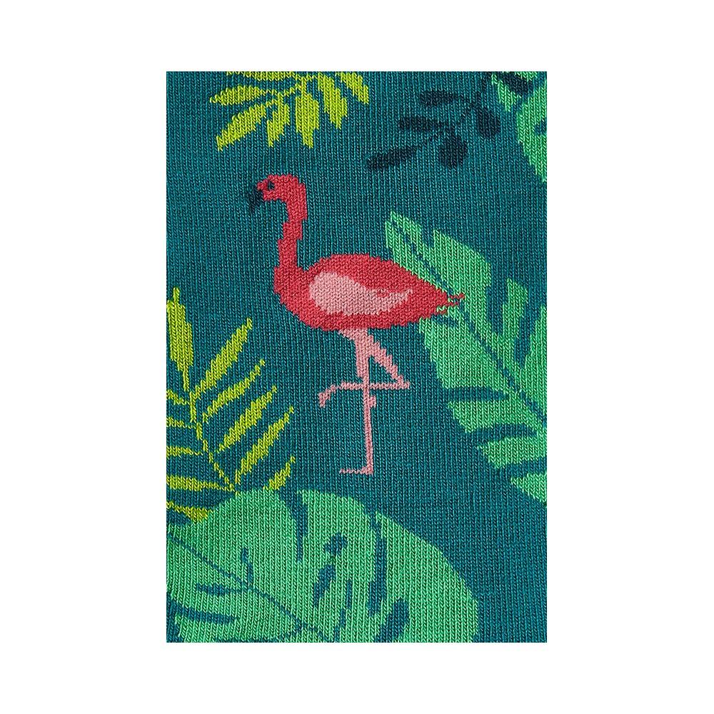 """Moterų kojinės """"Flamingas tropikuose"""" 3"""