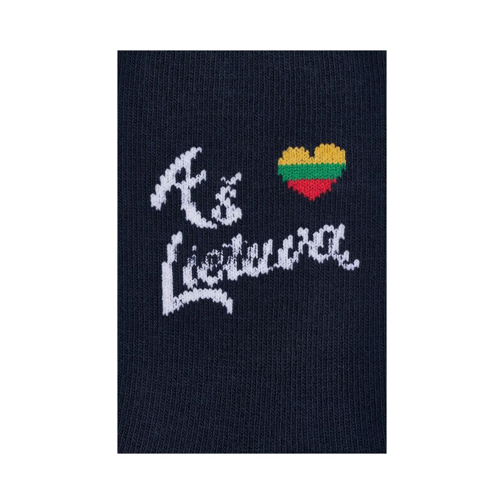 """Vaikų kojinės """"Aš myliu Lietuvą"""" 3"""