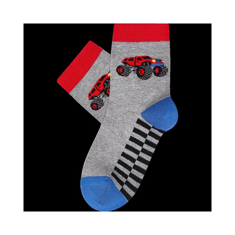 """Vaikų kojinės """"Monster mašina"""" 2"""