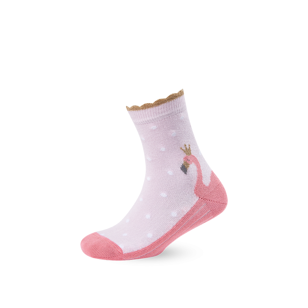 """Vaikų kojinės """"Flamingas"""" 1"""